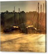 Harbor Mist Canvas Print