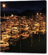 Harbor Night Canvas Print
