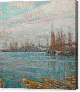 Harbor Of A Thousand Masts Canvas Print