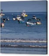 Harbor Of San Juan Del Sur Canvas Print