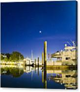 Harbor Town Yacht Basin Light House Hilton Head South Carolina Canvas Print