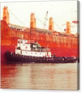 Harbor Tugboat Canvas Print