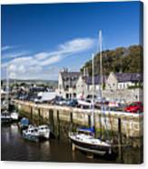 Harbour At Port Erin Canvas Print