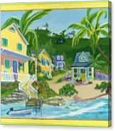 Harbour Houses Canvas Print