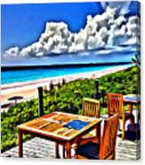 Harbour Island Canvas Print