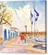 Harbour Of Cala Ratjada 01 Canvas Print
