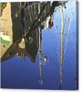 Harbour Reflection Canvas Print