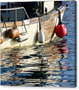 Harbour Reflections 3 - June 2015 Canvas Print