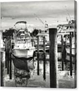 Harbour Scene Canvas Print