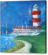 Harbour Town 18 Canvas Print