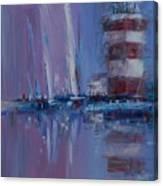 Harbour Town Sail Canvas Print