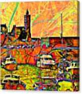 Harbour View Porthleven Cornwall Canvas Print