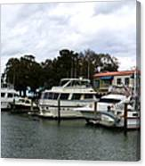 Harbourtown Marina Panorama Canvas Print