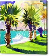 Harbourwalk Canvas Print