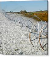 Hard Land Farming Canvas Print