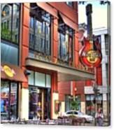 Hard Rock Cafe Denver Canvas Print