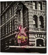 Hard Rock Philly Canvas Print