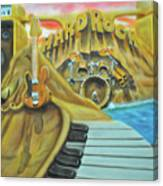 Hard Rock Canvas Print
