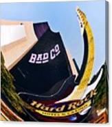 Hard Rock Tower Canvas Print