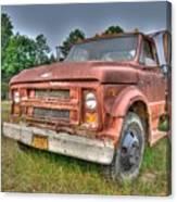 Hard Working Farm Truck Canvas Print