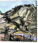 Hardknott Summit Road Canvas Print