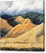 Hardscrabble Canyon Canvas Print