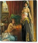 Harem Beauty Canvas Print