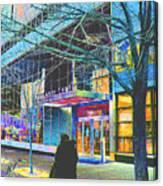 Harlem Street Scene  Canvas Print