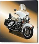 Harley Classic Gold Canvas Print