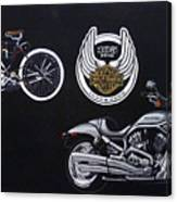 Harley Davidson 105th Anniversary Canvas Print