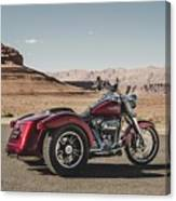 Harley-davidson Freewheeler Canvas Print