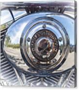 Harley Davidson Motorcycles Art Canvas Print