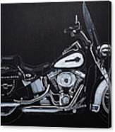 Harley Davidson Snap-on Canvas Print