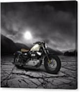 Harley Davidson Sportster Forty Eight 2013 Mountains Canvas Print