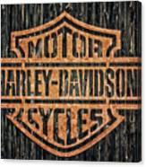 Harley - Davidson Canvas Print