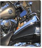 Harley Duo Canvas Print