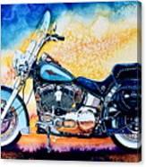 Harley Hog I Canvas Print