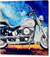 Harley Hog II Canvas Print