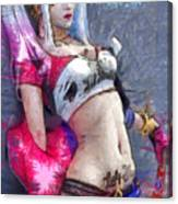 Harley Quinn Waiting For You - Da Canvas Print