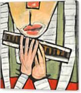 Harmonicat Canvas Print