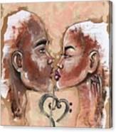 Harmonies Canvas Print