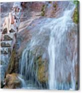 Harmony At The Falls Canvas Print