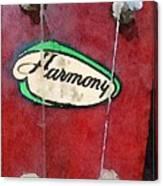Harmony Uke Canvas Print