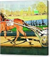 Harness Racer Canvas Print