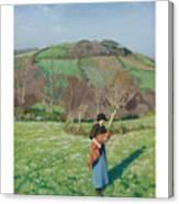 Harold Harvey 1874-1941 British Early Spring Canvas Print