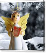 Harp The Herald Angels Sing Canvas Print