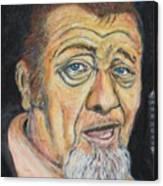 Harpdog Brown Canvas Print
