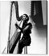 Harpist, 1935 Canvas Print