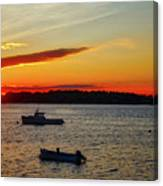 Harpswell Sunset Canvas Print
