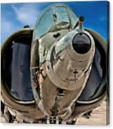 Harrier Ground Attack Jet Airplane Canvas Print